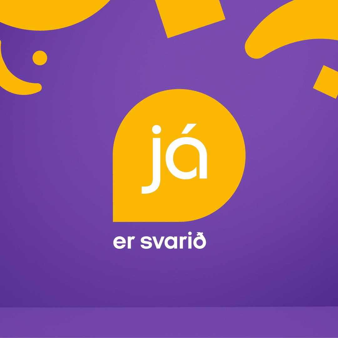 Já.is rebrand